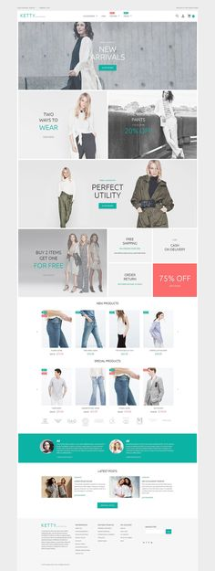 Professionally done and inspired by the latest web design trends, this Clothing Store Magento Theme will set a voguish tone to any fashion apparel store. Grid-based content block layout, retina-rea...