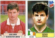 #DenisIrwin #ManchesterUnited #mufc #Ireland #legend #Irwin #UEFA #ChampionsLeague #UCL #BPL #PremierLeague #EPL #BarclaysPremierLeague #FIFA #WorldCup #USA #1994 #classicfootballplayers by classicfootballplayers01