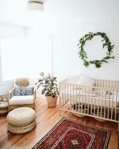 @paigejonesPHOTO nursery is so natural light and airy. Love the vintage vibe. So boho so good and so unisex. Pretty successful IMO. Want to see use recreate it for our next room redo? Like it to vote! #CopyCatChic
