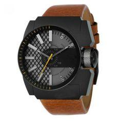 Relógio com pulseira de couro modelo DZ1350 | Relógios | | TriClick por R$68,30