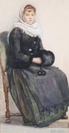 Dame Laura Knight - Dutch Lady