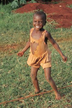 Smile, though your heart is aching. UGANDA