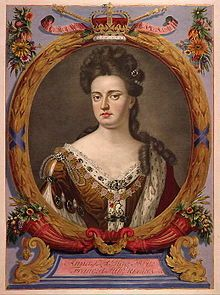 On this day 8th March, 1702 Anne Stuart, sister of Mary II becomes Queen Regent of England, Scotland and Ireland after William II died in a riding accident. Despite seventeen pregnancies, Anne died without surviving children and was the last monarch of the House of Stuart. Anne was succeeded by her second cousin George I of the House of Hanover