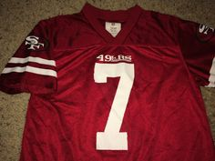 5c0c8b33b95 Sale Vintage SAN FRANCISCO Sf 49ers Football Jersey by casualisme Nfl T  Shirts