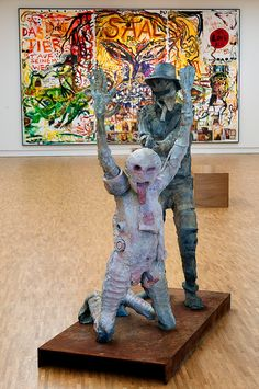 Jonathan Meese, Don't Call Us, We Call You, 2007