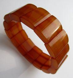 Vintage Baltic Natural Amber Bracelet