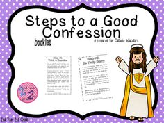 This informational booklet about the Sacrament of Holy Reconciliation is perfect for Catholic school or religious education students getting ready to make their First Reconciliation. This bookletcontains information that pertains to students specifically about the steps to take before making Reconciliation.Check out this First Communion resource:https://www.teacherspayteachers.com/Store/2nd-Year-2nd-Grade