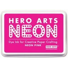 Hero Arts Neon Ink Pad - Neon Pink  £5.75