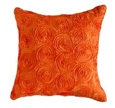 "Concentric Circles 16""x16"" Decorative Silk Throw Pillow Cover (Orange) That's Perfect! http://www.amazon.com/dp/B00JU6SLAG/ref=cm_sw_r_pi_dp_Q5qdub0GC8FFE"