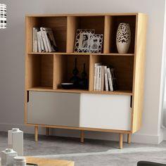 Dann Cupboard Modern Sideboard, Sideboard Buffet, Credenza, Bookshelves, Bookcase, Fern, Offices, Cupboard, Bedroom Ideas
