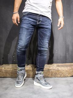 c063addba936f 76 Best white shirt blue jeans images in 2018 | Fashion, Mens ...