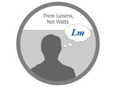 LED Lighting Fact | Think lumens, not watts when are shopping for LED lighting