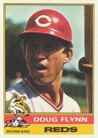 Doug Flynn Utility Infielder  AB 127  HR 1  RBI 11  BA .268  OBP .324  SLG .346  OPS .670 - 1975 Stats