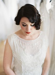 Vintage wedding dress: http://www.stylemepretty.com/2015/04/22/unique-ideas-for-an-eco-chic-wedding/