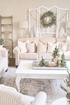 Jolly rated shabby chic home decor tips you could look here Shabby Chic Living Room, My Living Room, Shabby Chic Furniture, Wooden Furniture, Furniture Projects, Living Spaces, Shabby Chic Farmhouse, Shabby Chic Homes, Farmhouse Decor