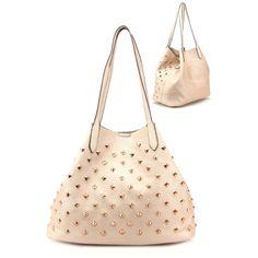 Handbag Copper Metal Studs Trend Fashion Woman