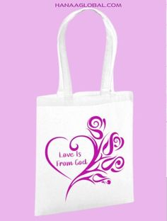 Christian Gifts, Valentine Gifts, Celebrations, Eco Friendly, Unique Gifts, Reusable Tote Bags, Organic, God, Amazing