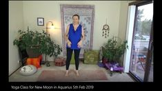 This yoga class, with it's money manifestation meditation, along with the strong cosmic energies around your personal finances . Manifestation Meditation, Moon In Aquarius, New Moon, Yoga, Yoga Sayings