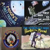 Welcome to my annual list of recommended space books for kids! This year I had more than 80 books to read, and I've winnowed the list to recommend There are books for all ages from 0 to 18 and beyond. Space Books For Kids, Katherine Johnson, Space Story, Read Aloud Books, Michael Collins, Apollo Missions, Summer Books, Man On The Moon, Astronauts