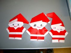 Origami santa claus instructions youtube - Origami On Pinterest Easy Origami Origami Hearts And