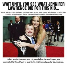 And This Is Why People Like Jennifer Lawrence So Much…