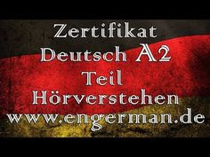 Zertifikat Deutsch A2 - YouTube Deutsch A2, German, Youtube, Certificate, Deutsch, German Language, Youtubers, Youtube Movies