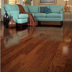 """Turlington 5"""" Engineered Cherry Hardwood Flooring in Bronze"""
