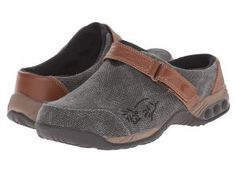 THERAFIT Austin Denim (Denim/Black) Women's Flat Shoes