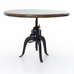 Dining Room | Rockwell Adjustable Round Dng Tbl 48""