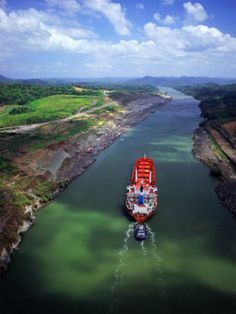 The Panama Canal... Excited to learn about the engineering behind the passageway from the Atlantic to the Pacific