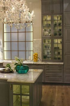 Top 25 Must See Kitchens on Pinterest - laurel home | cabinetry by Ikea - yes, Ikea!