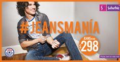 Jeansmanía: Jeans marca Furor Products, desde $298.