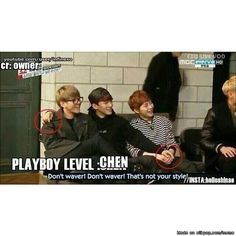 Chen's Style hahaha x) #Chen #Exo