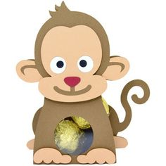 Silhouette Design Store: cute monkey box