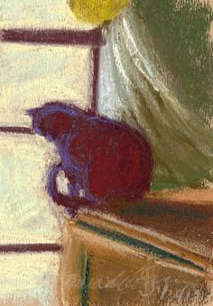 The Creative Cat - Daily Sketch Reprise: Winter Morning