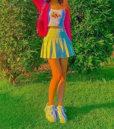 Indie Outfits, Teen Fashion Outfits, Retro Outfits, Cute Casual Outfits, Kids Outfits, Indie Clothes, Vintage Outfits, Summer Outfits, Mode Indie
