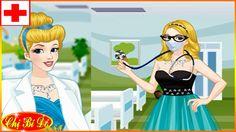 Cô Bé Lọ Lem Cinderella trở thành bác sĩ ♥ Trò chơi thời trang bác sĩ