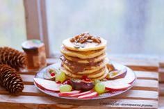 Тыквенные оладьи - идеальный осенний завтрак. | vegelicacy.com - вегетарианские рецепты