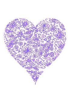 Color Lila - Lilac!!! Heart