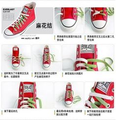 7 Stylish Ways to Tie Your Sneakers | iCreativeIdeas.com Like Us on Facebook ==> https://www.facebook.com/icreativeideas