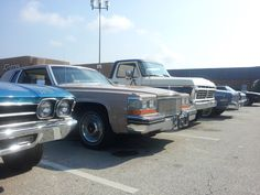 Classic Cars for the mall parking lot scene