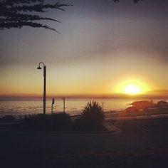 Sunrise at San Carlos Beach! Photo by chairmankim