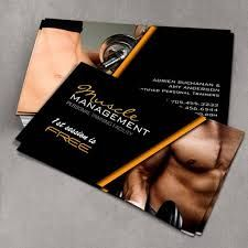 Image result for personal trainer business card