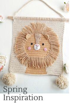 Baby Girl Crochet, Love Crochet, Crochet For Kids, Diy Crochet, Crochet Toys, Crochet Wall Art, Crochet Wall Hangings, Crochet Home Decor, Tapestry Crochet