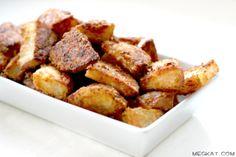 Baked Parmesan Roasted Potato Wedges