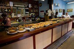 Pintxo bar by Kaiphass, via Flickr