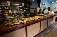Pintxo bar by Kaiphass, via Flickr