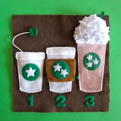 Starbucks page!! How cute is this!!