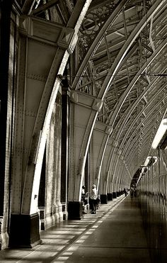 Pancras Station, London. By Paul Cooper (Wake Up and Look Around)