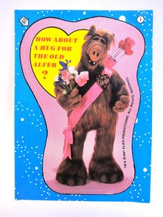 I need this, an ALF valentines day card so awesome Vintage Valentines, Valentine Day Cards, Be My Valentine, Funny Valentine, 90s Childhood, Childhood Memories, Angry Birds, John Rambo, Gemini